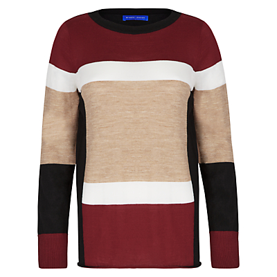 Winser London Colour Block Jumper, Multi