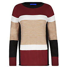 Buy Winser London Colour Block Jumper, Multi Online at johnlewis.com
