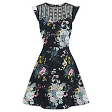Buy Oasis Botanical Bouquet Dress, Multi Online at johnlewis.com