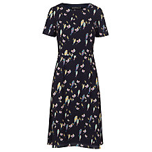 Buy Sugarhill Boutique Maya Bright Birdie Dress, Navy Online at johnlewis.com