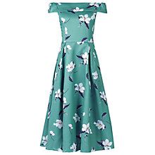Buy Jolie Moi Midi Prom Dress, Teal Floral Online at johnlewis.com