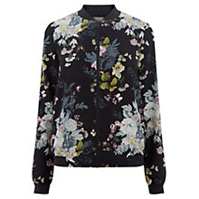 Buy Oasis Botanical Bouquet Bomber Jacket, Multi Online at johnlewis.com