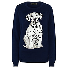 Buy Sugarhill Boutique Nita Dalmation Jumper, Navy Online at johnlewis.com