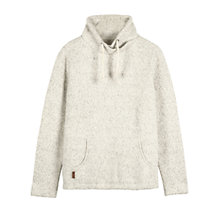 Buy Fat Face Cowes Overhead Sweat Top, Ivory Online at johnlewis.com
