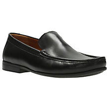 Buy Clarks Claude Leather Loafers Online at johnlewis.com