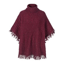 Buy Fat Face Blythe Poncho Online at johnlewis.com