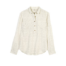 Buy Fat Face Laurie Seed Ditsy Popover Top, Ivory Online at johnlewis.com