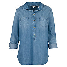 Buy Fat Face Laurie Popover Top Online at johnlewis.com