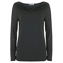 Buy Mint Velvet Burnout Layered T-shirt Online at johnlewis.com