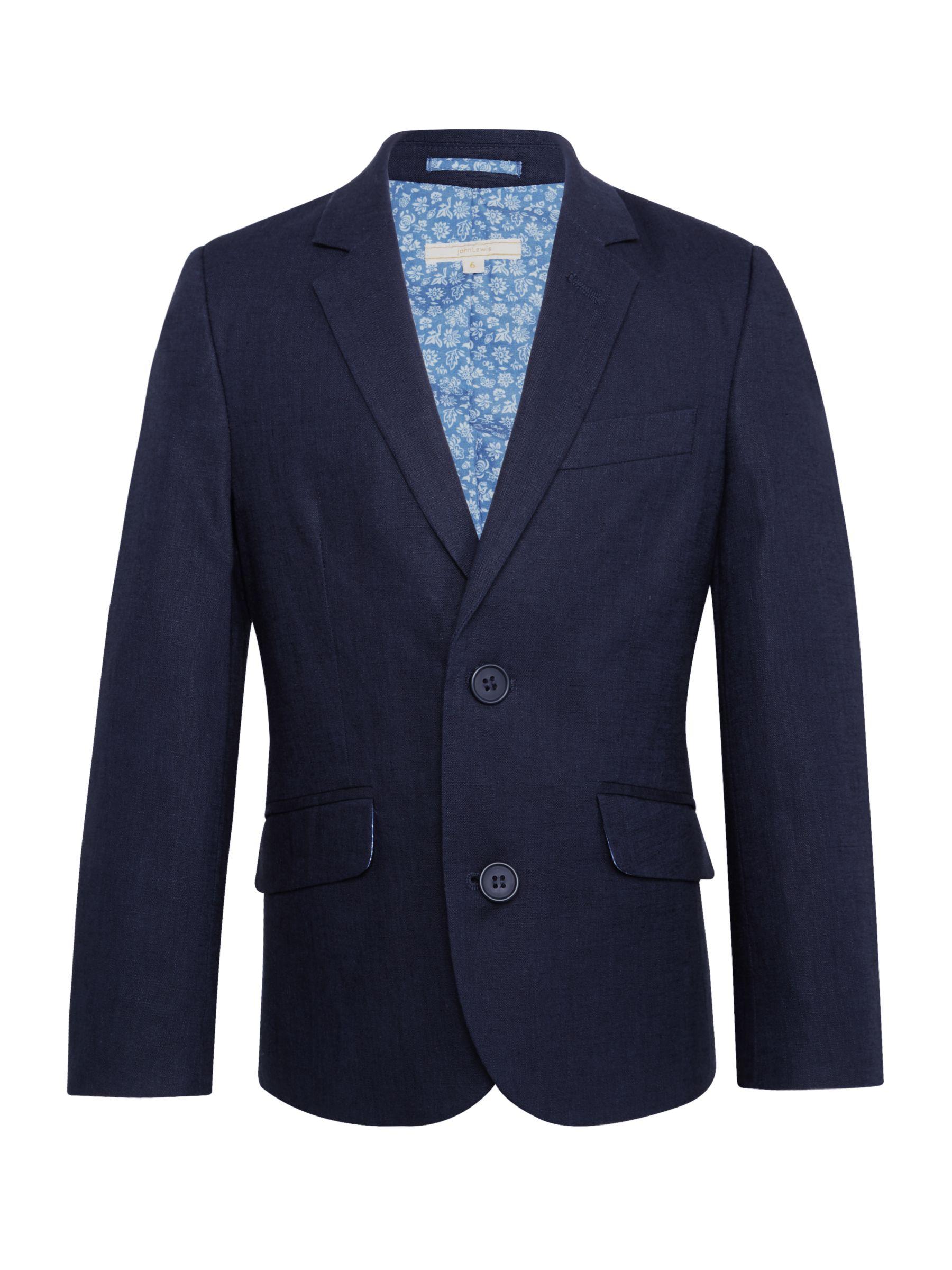 John Lewis Heirloom Collection John Lewis Heirloom Collection Boys' Linen Cotton Jacket