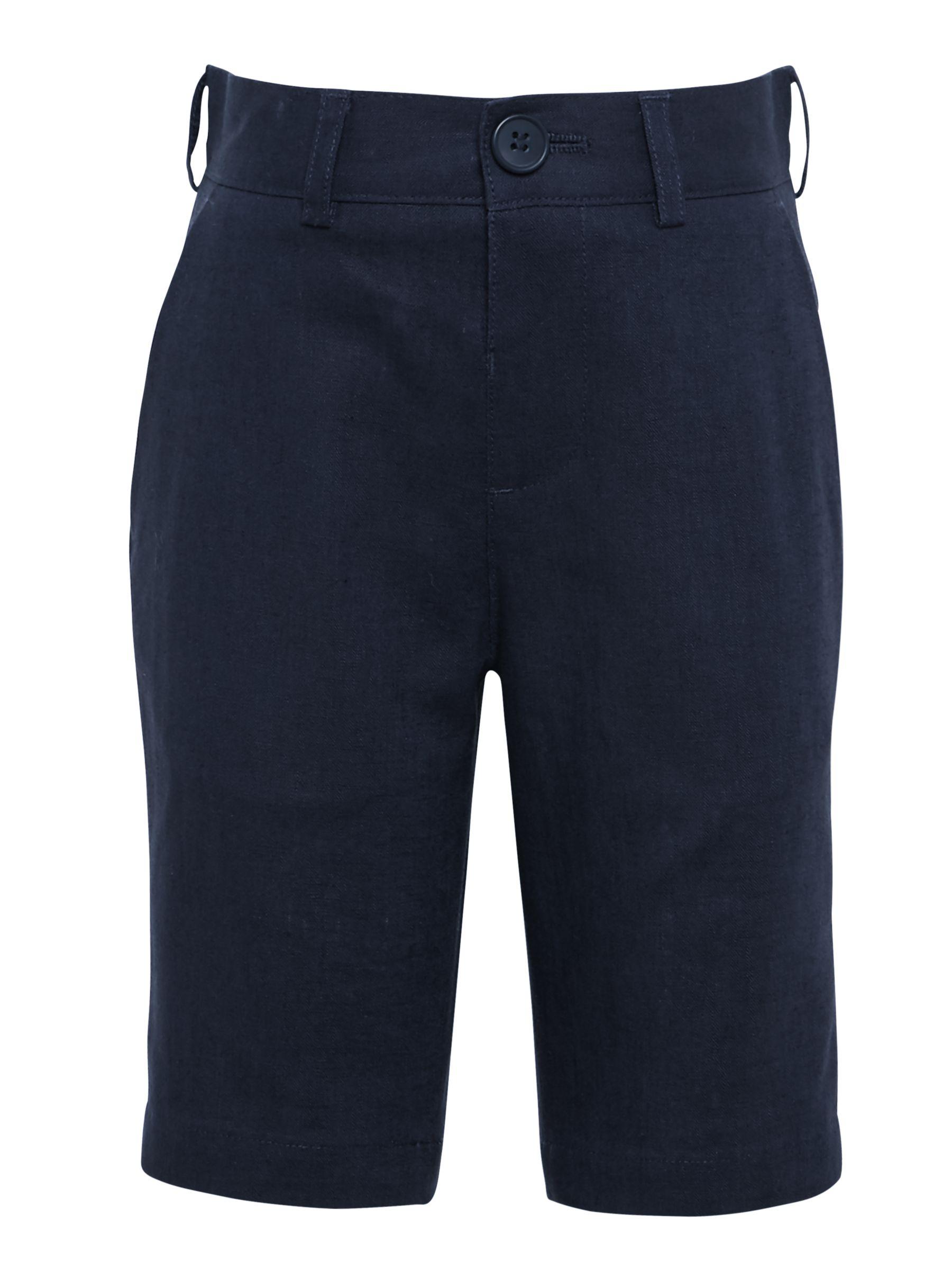 John Lewis Heirloom Collection John Lewis Heirloom Collection Boys' Linen Cotton Shorts