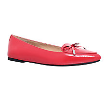 Buy MICHAEL Michael Kors Nancy Pumps, Red Online at johnlewis.com