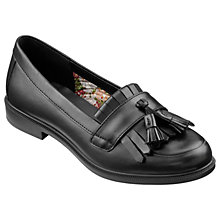 Buy Hotter Hamlet Tassel Loafers, Black Online at johnlewis.com