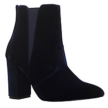 Buy Carvela Gorki Pointed Toe Ankle Boots, Blue Online at johnlewis.com