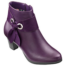 Buy Hotter Anastasia Block Heeled Ankle Boots Online at johnlewis.com
