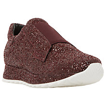 Buy Dune Black Eccentric Slip On Trainers Online at johnlewis.com