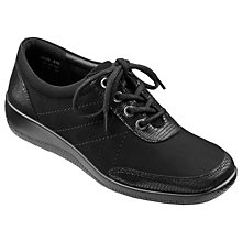 Buy Hotter Paige Lace Up Plimsolls Online at johnlewis.com