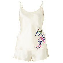 Buy Somerset by Alice Temperley Wisteria Camisole And Short Set, Ivory/Multi Online at johnlewis.com