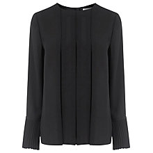 Buy Warehouse Box Pleat Top Online at johnlewis.com