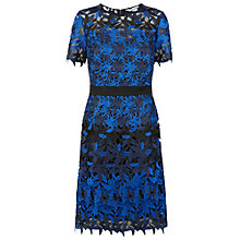 Buy Fenn Wright Manson Planet Dress, Black/Blue Online at johnlewis.com