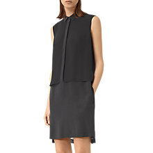 Buy AllSaints Radial Sleeveless Dress Online at johnlewis.com
