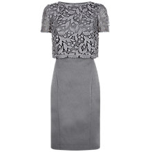 Buy Fenn Wright Manson Rockwell Dress, Grey Online at johnlewis.com
