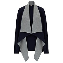 Buy Phase Eight Iniga Waterfall Jacket, Navy/Grey Online at johnlewis.com