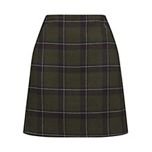 Buy Oasis Check Poppy Skirt, Multi Online at johnlewis.com