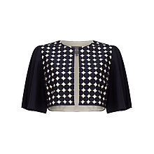 Buy Phase Eight Cecilia Jacket, Navy/Oyster Online at johnlewis.com