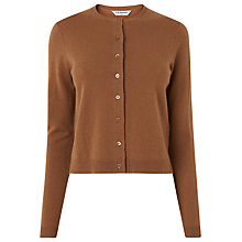 Buy L.K. Bennett Correl Cardigan, Brown Online at johnlewis.com
