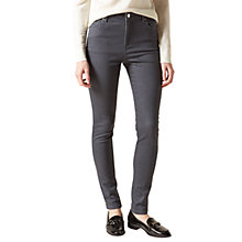 Buy Hobbs Primrose Denim Jeans, Grey Online at johnlewis.com