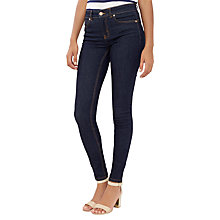 Buy Oasis New Premium Rinse Wash Jeans, Dark Wash Online at johnlewis.com