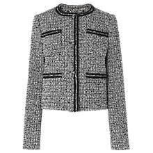 Buy L.K. Bennett Astrala Tweed Tailored Jacket, Multi Online at johnlewis.com