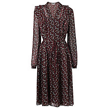 Buy L.K. Bennett Jana French Forest Dress, Multi Online at johnlewis.com