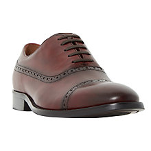 Buy Dune Rebeche Punch Hole Detail Toecap Oxford Shoes Online at johnlewis.com