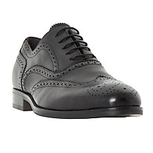 Buy Bertie Regulate Brogues, Black Online at johnlewis.com