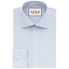 Buy Thomas Pink Patterson Check XL Sleeve Slim Fit Shirt, Pale Blue/Pink Online at johnlewis.com