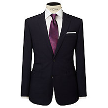 Buy John Lewis Stripe Tailored Fit Suit Jacket, Navy Online at johnlewis.com