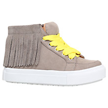 Buy Mini Miss KG Children's Fringe High Top Trainers Online at johnlewis.com