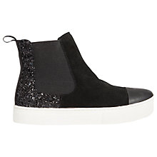 Buy Mini Miss KG Children's Galaxy Boots, Black Online at johnlewis.com