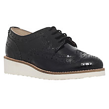 Buy Mini Miss KG Children's Mini Knox Lace Shoes, Black Online at johnlewis.com