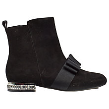 Buy Mini Miss KG Children's Mini Solo Boots, Black Online at johnlewis.com
