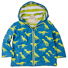 Buy Hatley Boys' T-Rex Splash Jacket, Blue/Multi Online at johnlewis.com