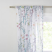 Buy John Lewis Longstock Slot Top Sheer Panel Online at johnlewis.com