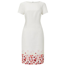 Buy Bruce by Bruce Oldfield Floral Placement Dress, Ivory Online at johnlewis.com