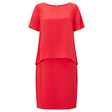 Buy Bruce by Bruce Oldfield Double Layer Dress, Watermelon Online at johnlewis.com