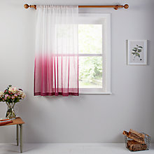 Buy John Lewis Ombre Voile Panel Online at johnlewis.com