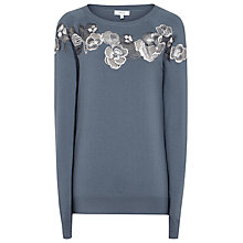 Buy Reiss Amelia Lace Detail Jumper Online at johnlewis.com