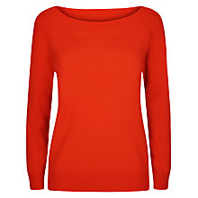 Buy Jaeger Cashmere Off Shoulder Jumper Online at johnlewis.com