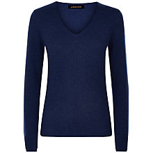 Buy Jaeger Double Trim Cashmere Jumper Online at johnlewis.com